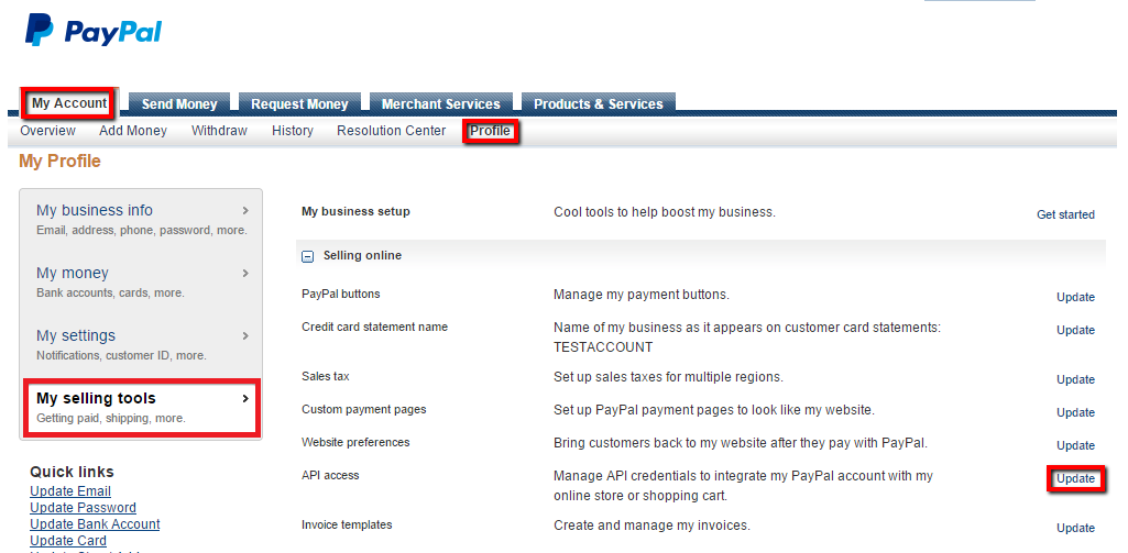 Ucommerce Documentation PayPal Subscriptions - How do i create a paypal invoice online computer store